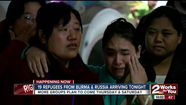 19 Refugees From Burma - Russia Arrive In Tulsa