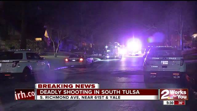 Man shot to death in south Tulsa