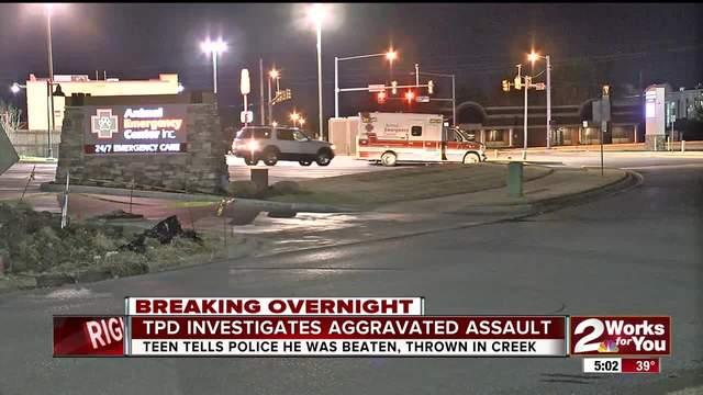 Tulsa Police investigate overnight aggravated assault in East Tulsa