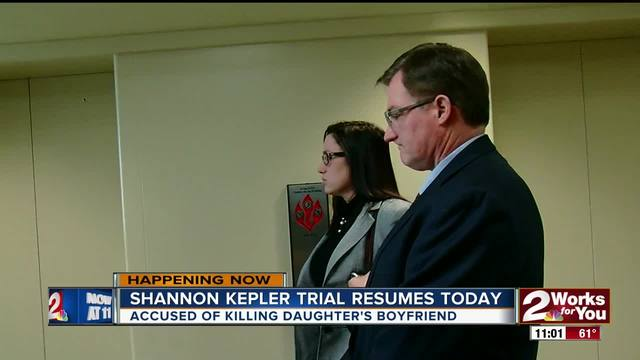 Trial for Shannon Kepler resumes today