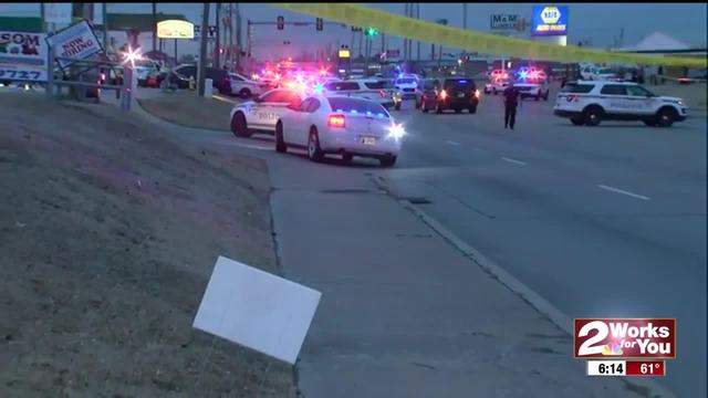 Officer-involved shooting in East Tulsa