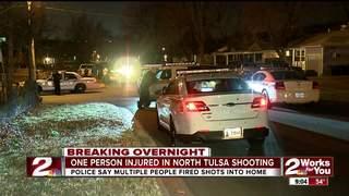 Juvenile injured in north Tulsa shooting