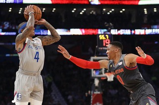 Durant alley-oops to Westbrook at All-Star game