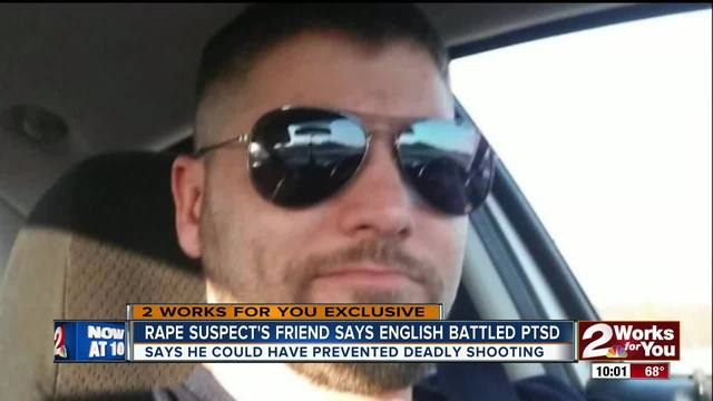 Friend of rape suspect shot and killed by police speaks out