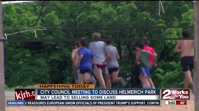 City Council will discuss future plans for Helmerich Park