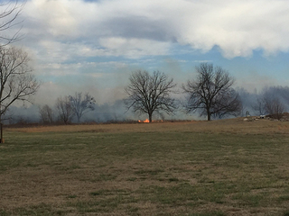 Homes evacuated due to Coweta grass fire