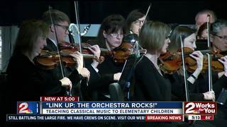 Tulsa elementary students learn classical music