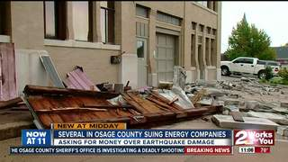 Seven Osage Co. residents suing over quakes