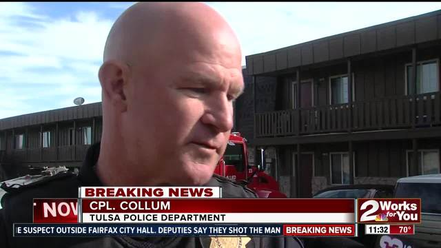 TPD corporal finds suspected hit-and-run vehicle at apartment complex