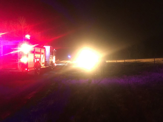 4 hospitalized with burns after explosion