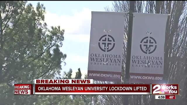 Lockdown lifted at Oklahoma Wesleyan University