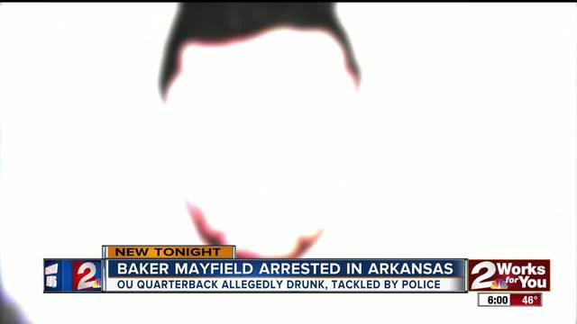 Fayetteville Police expected to release video of OU quarterback Baker Mayfield's arrest