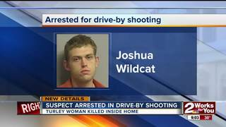 Arrest made in Turley drive-by shooting