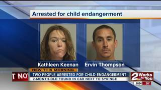 Two arrested on child endangerment accusations