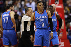 Westbrook's triple-double helps Thunder top Pels
