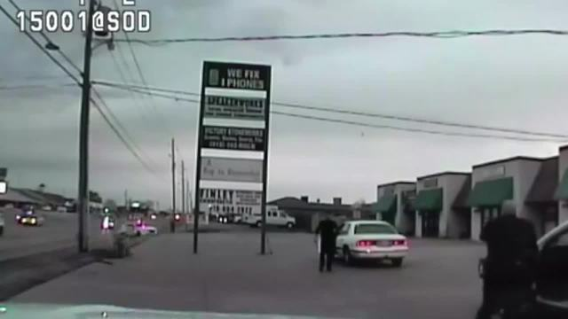 Dashcam footage released in police shooting