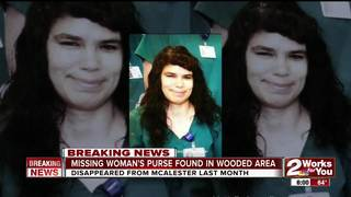Purse believed to be missing woman's found