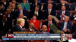 Oklahoma Senators react to Pres. Trump's speech