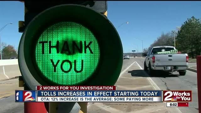 OTA implements toll hikes across Oklahoma