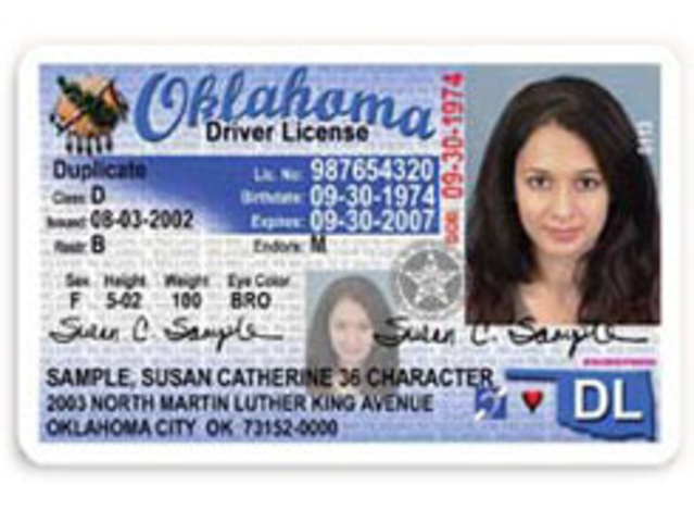 Oklahoma receives Real ID extension through October 10