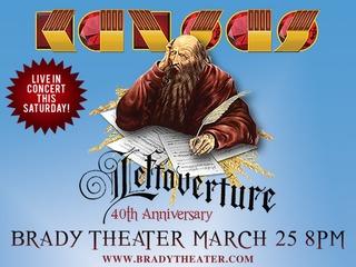 CONTEST: Pair of Kansas concert tickets