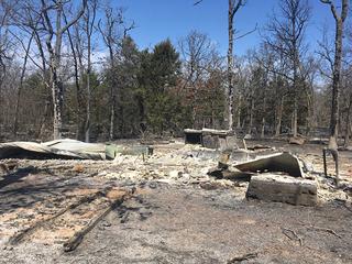 Pittsburg Co. fire evacuees return home