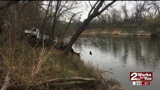 Car recovered from Verdigris River