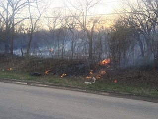 Large grass fire threatens homes in Sapulpa