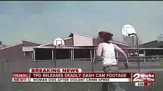 Dashcam Video Shows Tulsa Police Confrontation With Madison Dickson