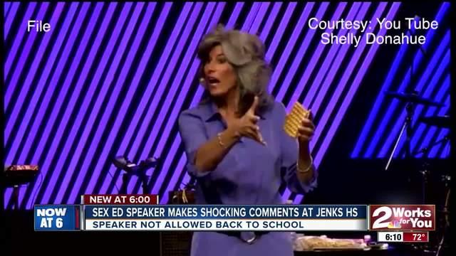Sex Ed speaker makes shocking comments in Jenks