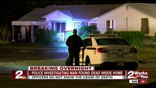 Man found dead in north Tulsa home identified
