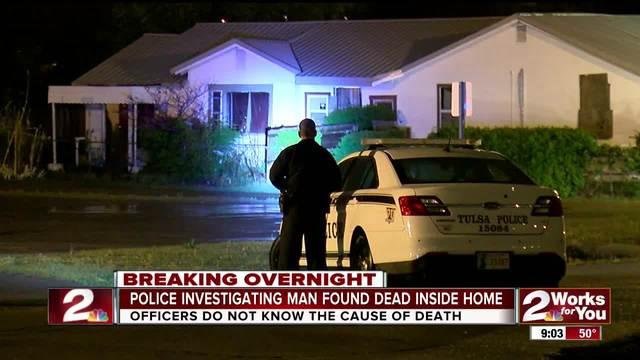 Man found dead in north Tulsa home