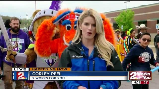 Tulsa Roughnecks open season with parade