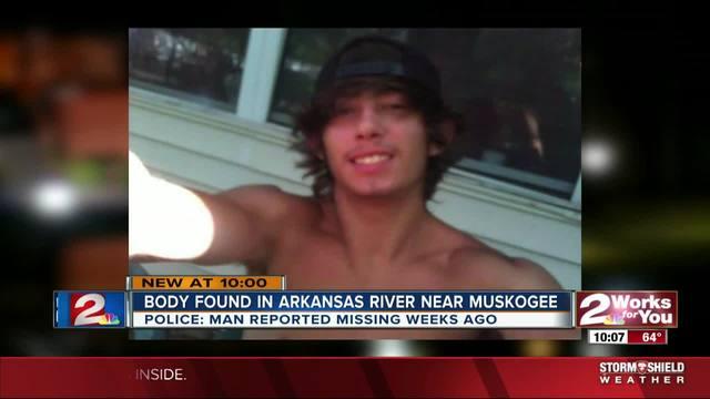 Missing Muskogee man-s body found in Arkansas River Saturday-