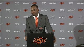 OSU introduces new head coach Mike Boynton