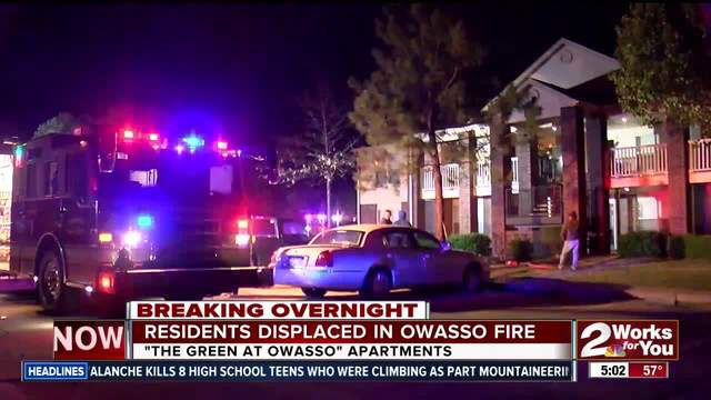 Apartment residents displaced after electrical fire force evacuation
