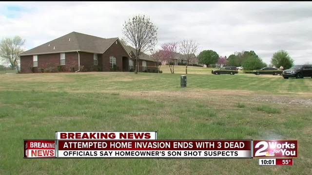 Attempted home invasion ends with 3 dead