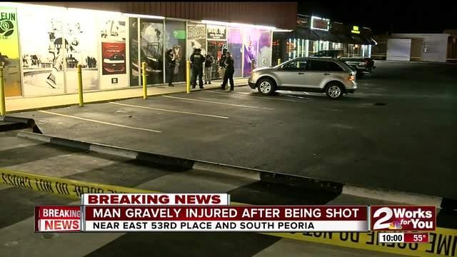 Man shot in South Tulsa