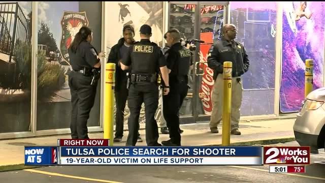 Tulsa Police searching for South Tulsa shooter