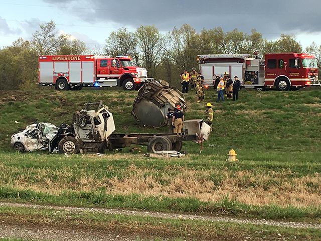 OHP on scene of fatal crash near Port of Catoosa