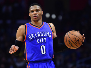Westbrook clinches triple-double average