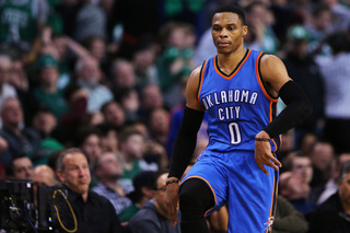 Westbrook sets triple-double record in victory