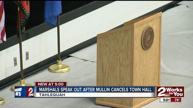Oklahoma congressman Markwayne Mullin cancels town hall for safety reasons