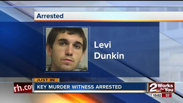 Witness in murder case arrested after failing to appear to give testimony