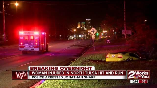 Man accused of running from scene of north Tulsa crash
