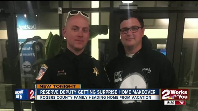 Rogers County reserve deputy getting surprise home makeover