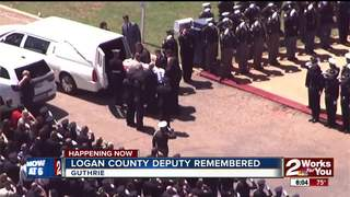 Funeral services held for Logan County Deputy...
