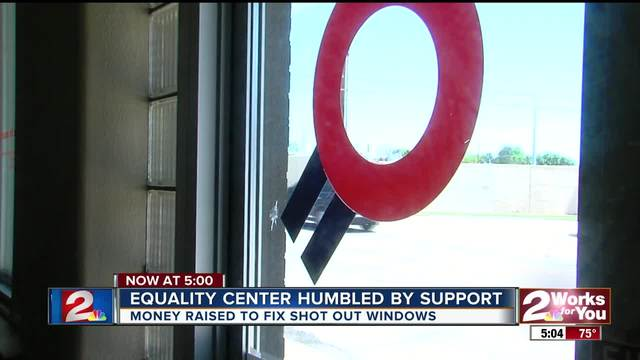 Equality center humbled by support from community