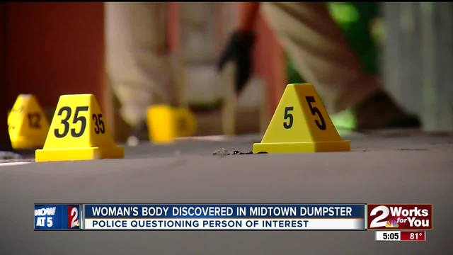 Woman-s body found in midtown dumpster