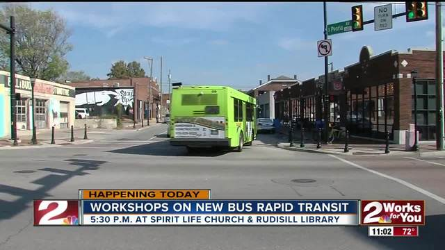 Tulsa residents have a chance to voice opinions on bus transit system